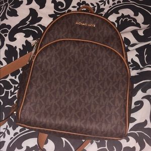 signature Michael Kors large backpack